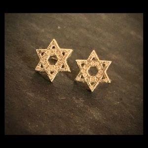 .925 Star of David Earrings
