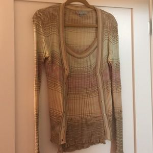 M by Missoni Sweaters - Missoni sz 10 cardigan and shell