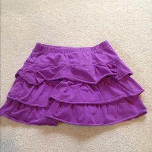 Children's Place Other - Purple ruffled skort