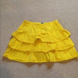 Children's Place Other - Yellow ruffled skort