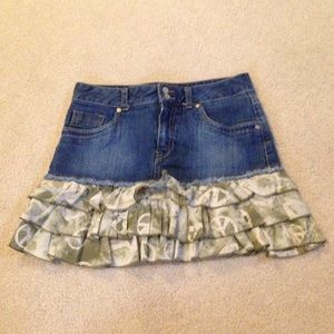 Justice Other - Justice mixed fabric skort!