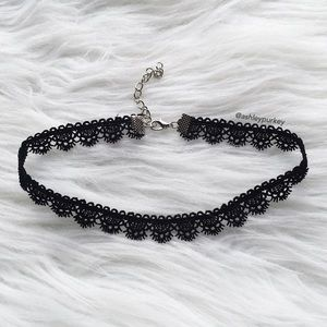 B-Long Boutique Jewelry - ❤️SALE❤️ black lace choker necklace - for bundling