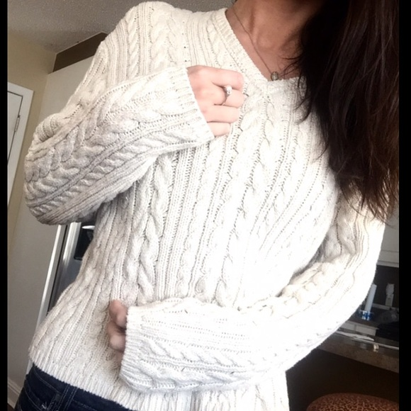 82% off GH Bass Sweaters - Chunky Ribbed Sweater from ...