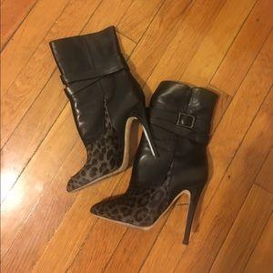Jimmy Choo Shoes - BNWB  Jimmy Choo leather & pony hair boots