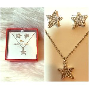 kate spade Jewelry - 🔴BOGO🔴✨HP✨Kate Spade Twinkle earrings&necklace