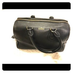 Henri Bendel Black leather bag