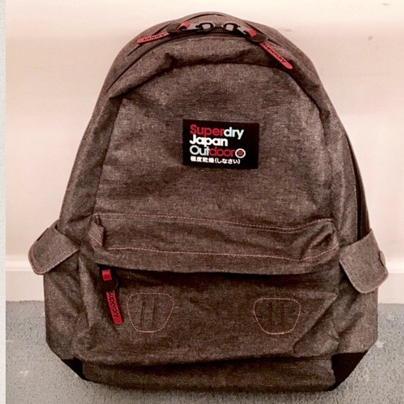 Superdry Japan Outdoor Waterproof Backpack. M 5874b55a522b4565ea15494e c2ae8edc2a6bd