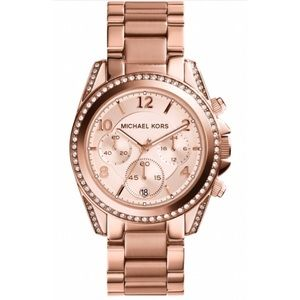 Michael Kors Accessories - Michael Kors Rose Gold- Women's Chronograph Watch