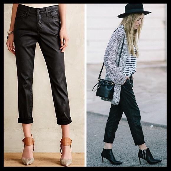 fed6a09e19 ag    beau slouchy faux leather boyfriend jeans
