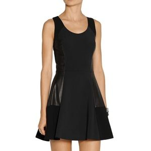 rag & bone Dresses & Skirts - Rag & Bone black leather paneled dress