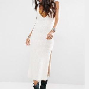 HOLD FREE PEOPLE EMMY KNIT DRESS