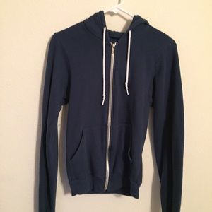 American Apparel Jackets & Blazers - American Apparel zip up