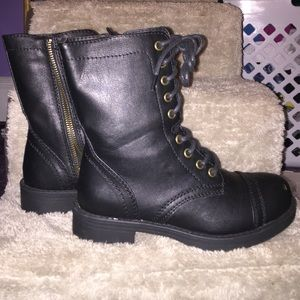 Brash (Payless) Shoes - Black Combat Boots