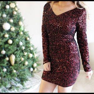 Dresses & Skirts - Sale! Red Sequin Dress