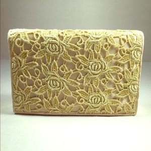 La Regale Handbags - La Regale Buttercream Evening Bag