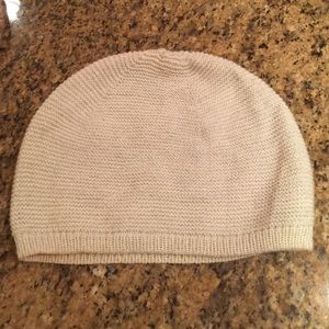 The Limited Silver Metallic Beanie