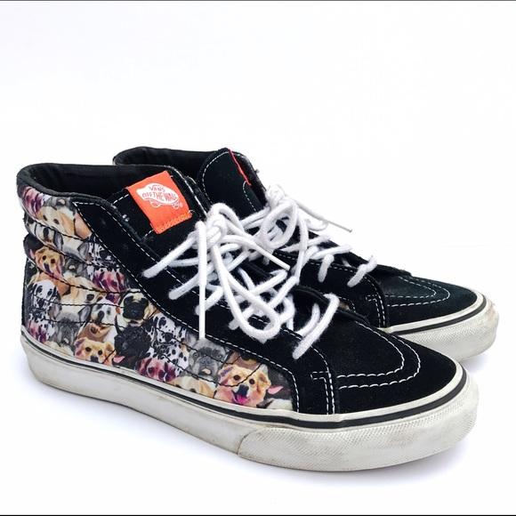 Vans Shoes | Vans Dog Print Hightops