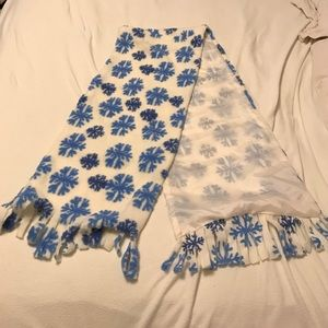 Accessories - New handmade snowflake scarf.