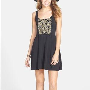 Element Dresses & Skirts - Element Skater Dress with Gold Detail