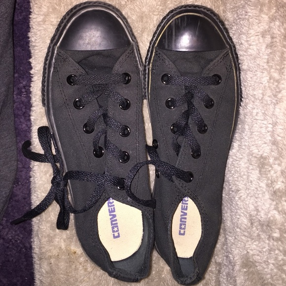 Converse Shoes - Black Converse