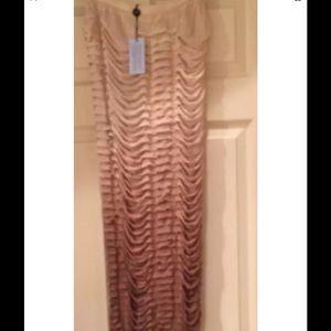 Blumarine Dresses & Skirts - BLUMARINE LONG BROWN OMBRE SKIRT  Size Medium