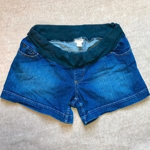 Denim Shorts by Motherhood Maternity