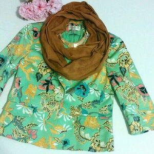 Conrad C Collection Jackets & Blazers - °Conrad C Collection° Mint Floral Blazer