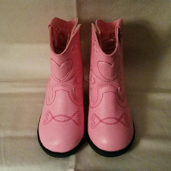 b0b1d9164 Healthtex Shoes | Pink Toddler Cowboy Boots | Poshmark