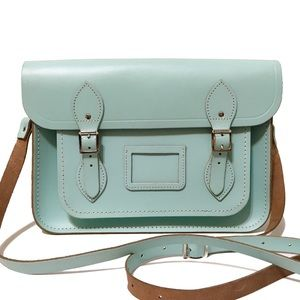 "ModCloth Handbags - ❤️ 13"" Cambridge Satchel Company Pale Mint Satchel"