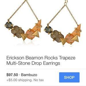 Erickson Beamon Jewelry - Erickson Beamon Trapeze Statement Earrings