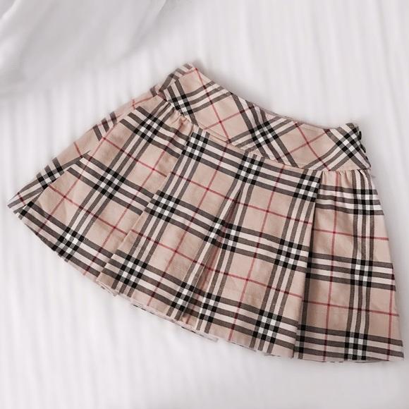 be77436037 Burberry Dresses & Skirts - FINAL FLASH- Burberry Nova Check A-Line Mini  Skirt