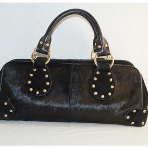 Valerie Stevens Handbags - ✨P💧Vintage Valerie Steven flare studs leather bag