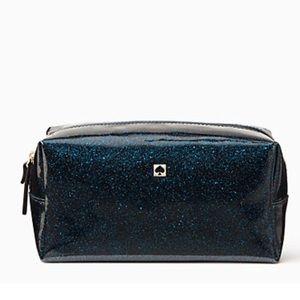 kate spade Handbags - Kate Spade Medium Davie Off Shore Navy Makeup Bag