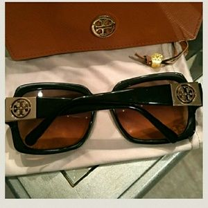 Tory Burch Oversized Square Sunglasses