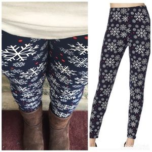 Pants - The snowflake plus legging
