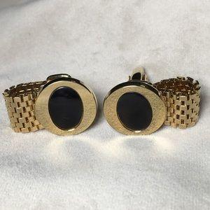 Vintage Other - Vintage Mid-Century Gold Tone Cufflinks