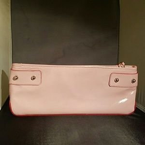 Kooba  Handbags - Final SALE Sweet! Kooba pink patent leather clutch
