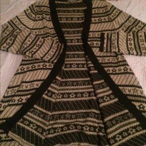 Tops - Tribal open sweater