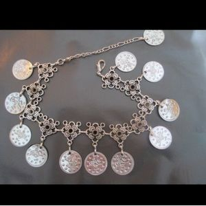 Jewelry - Silver Coin Anklet