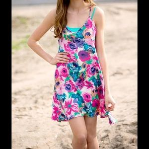 Sawyer Cove Pink Floral Tunic