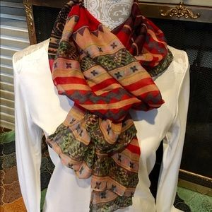 Accessories - 🌺B1G1🌺Beautifully designed Fashion scarf