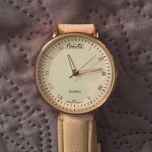 Nanette Nanette Lepore Classic Rose Gold Watch