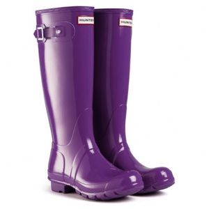 Hunter Tall Rain Boots 6M/7F