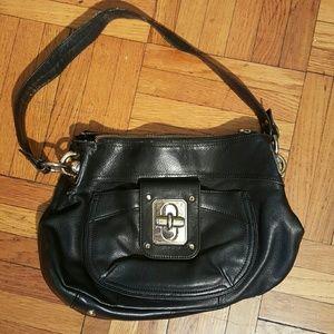 b. makowsky Handbags - Black Leather B. Makowsky Purse