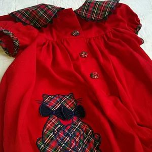 Bonnie Baby Other - Cats Plaid Outfit