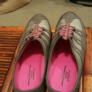 Cushion walk memory foam slip on sneakers by Avon,