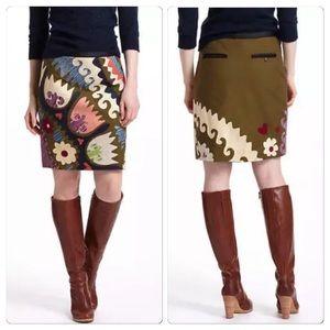 Anthropologie Tulipa Skirt