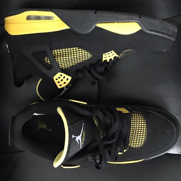 757fff0340c114 Jordan Other - Nike Air Jordan Retro 4 Thunder Size 12