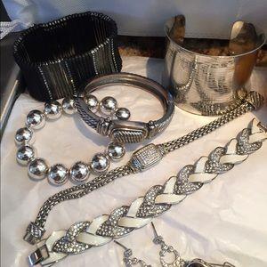 Jewelry - 💎 Silver Jewelry Lot Bundle