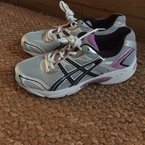 Asics Shoes - ASICS BRAND PINK WHITE RUNNING SHOES WMNS 8.5 M
